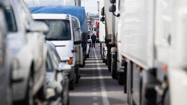 Długie kolejki na granicach. Szef Zrzeszenia Międzynarodowych Przewoźników Drogowych ostrzega