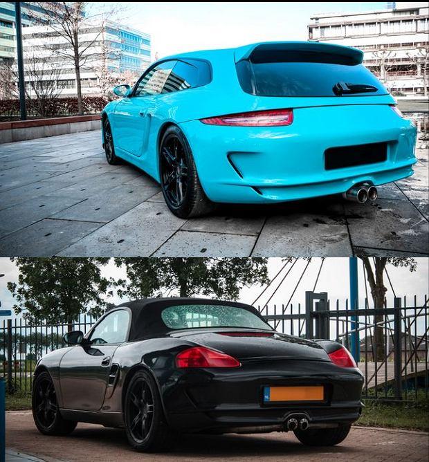 Porsche Boxster Shooting Brake, tuning Van Thull Development