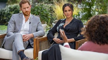"""Meghan Markle i książę Harry """"spuścili bombę"""" u Oprah Winfrey. Mówili o problemach w rodzinie królewskiej [PODSUMOWANIE]"""