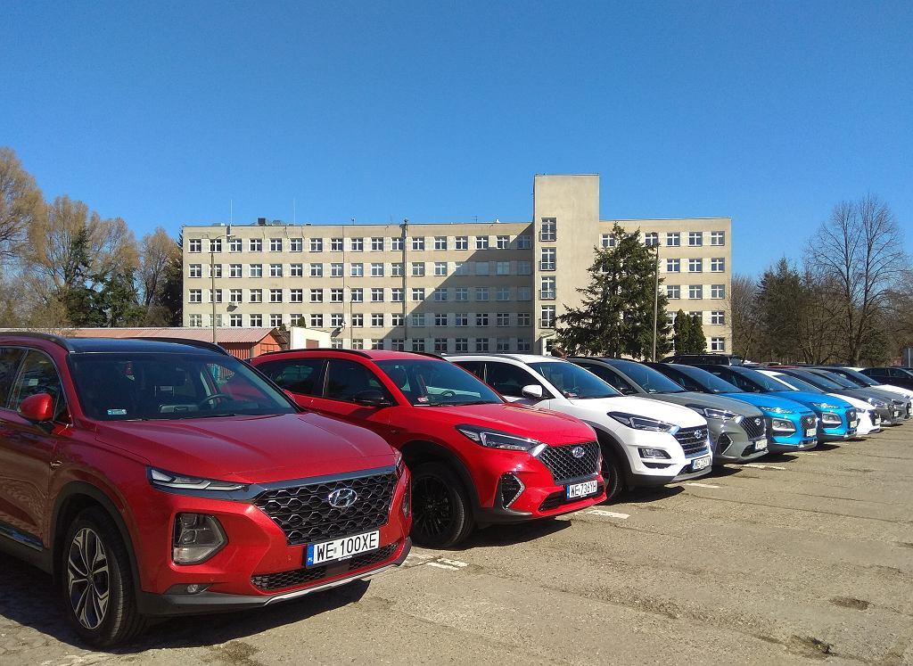 Hyundaie dla szpitala MSWiA w Warszawie