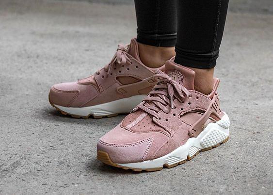 Nike Huarache w kolorze różowym