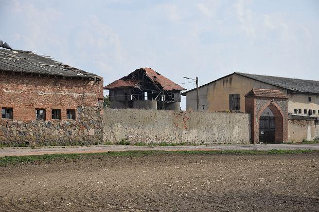 Dawny PGR w Krzymowie w powiecie gryfińskim
