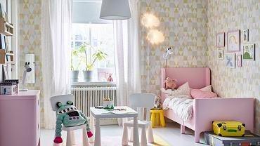 Łóżko Ikea z rozsuwaną ramą