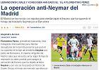 """Transfery. """"Sport"""": Operacja Anty-Neymar Realu. Lewandowski i Bale zasilą """"Królewskich""""?"""