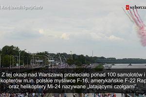 Setki żołnierzy i czołgi na ulicach Warszawy. Defilada Niepodległości z okazji Święta Wojska Polskiego