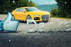 Audi dziękuje swoim fanom z Facebooka | Wideo