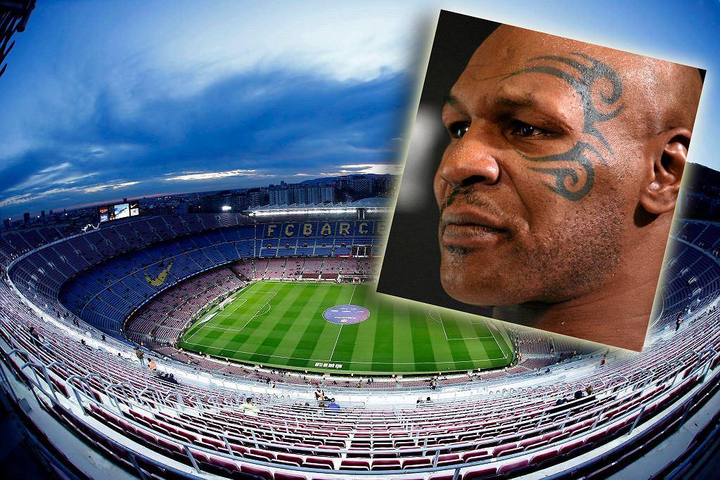 Tak może nazywać się stadion Barcelony! Kontrowersyjna propozycja firmy Mike'a Tysona