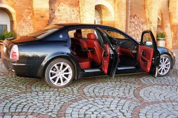 Maserati Quattroporte jako taksówka