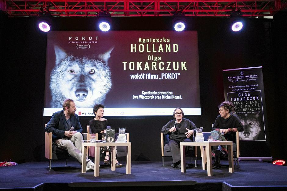 Dyskusja z autorką książki i reżyserką filmu 'Pokot'