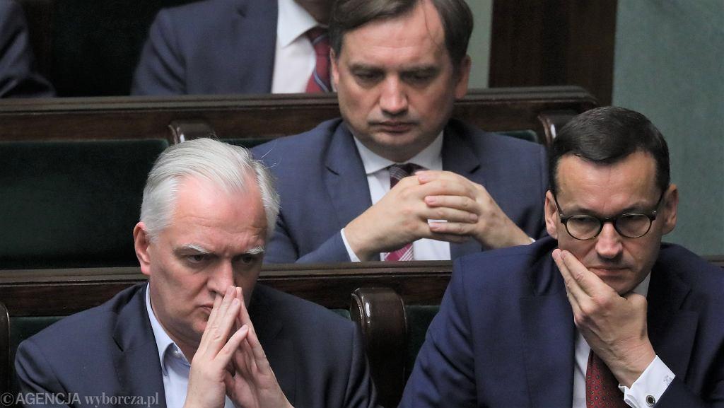 Zbigniew Ziobro, Jarosław Gowin, Mateusz Morawiecki