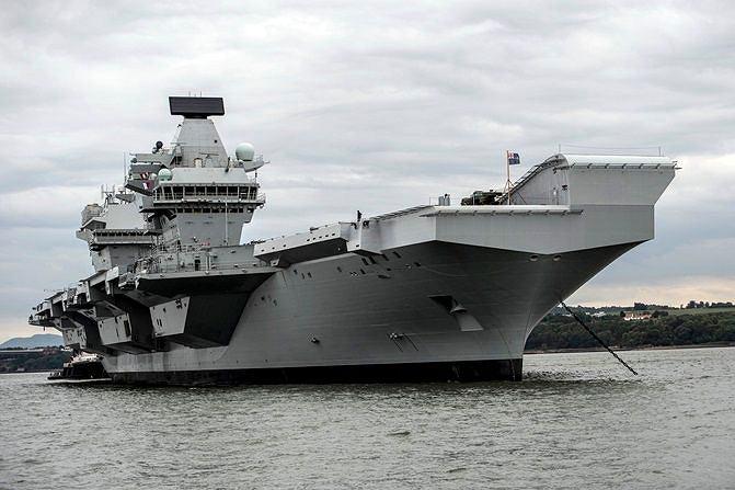 HMS 'Queen Elizabeth'