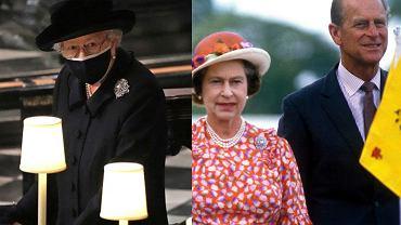 Królowa Elżbieta podczas pogrzebu księcia Filipa miała przy sobie dwie pamiątki po mężu. Obie symboliczne i romantyczne