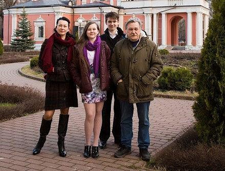 Kasia z rodziną (fot. Archiwum prywatne)