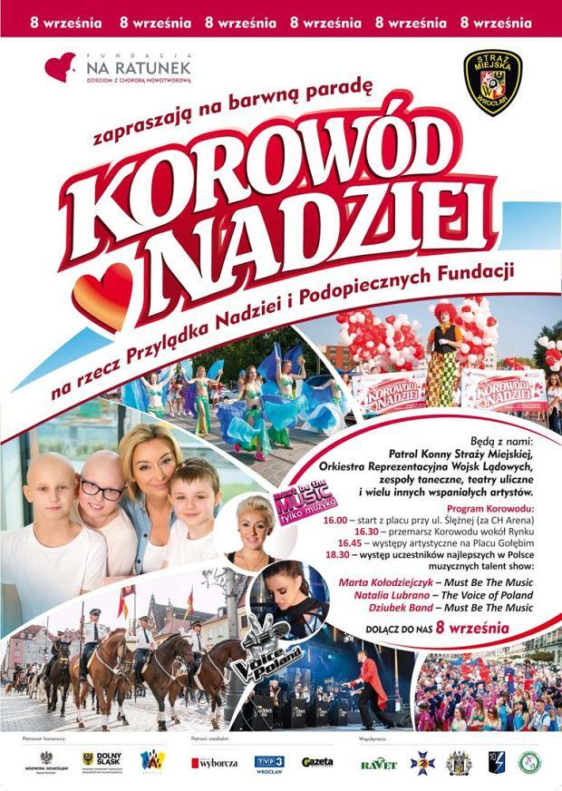 Korowód Nadziei 2018 - program