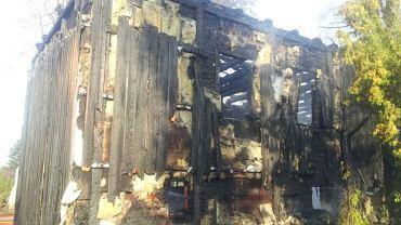 Pożar zabytkowego kościoła w Mileszkach