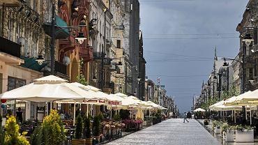 Ulica Piotrkowska w Łodzi | Zdjęcie ilustracyjne