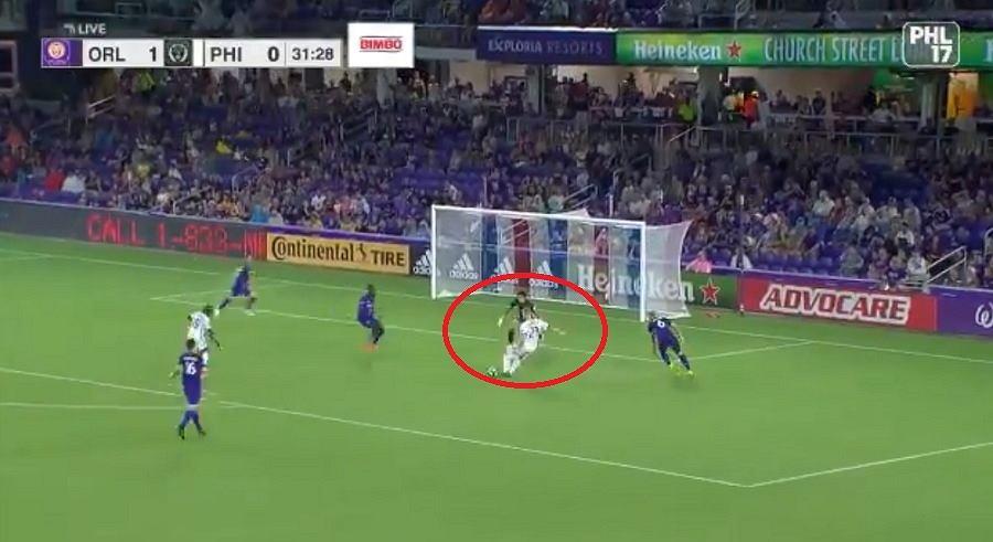 Kacper Przybyłko strzelił dwa gole w MLS
