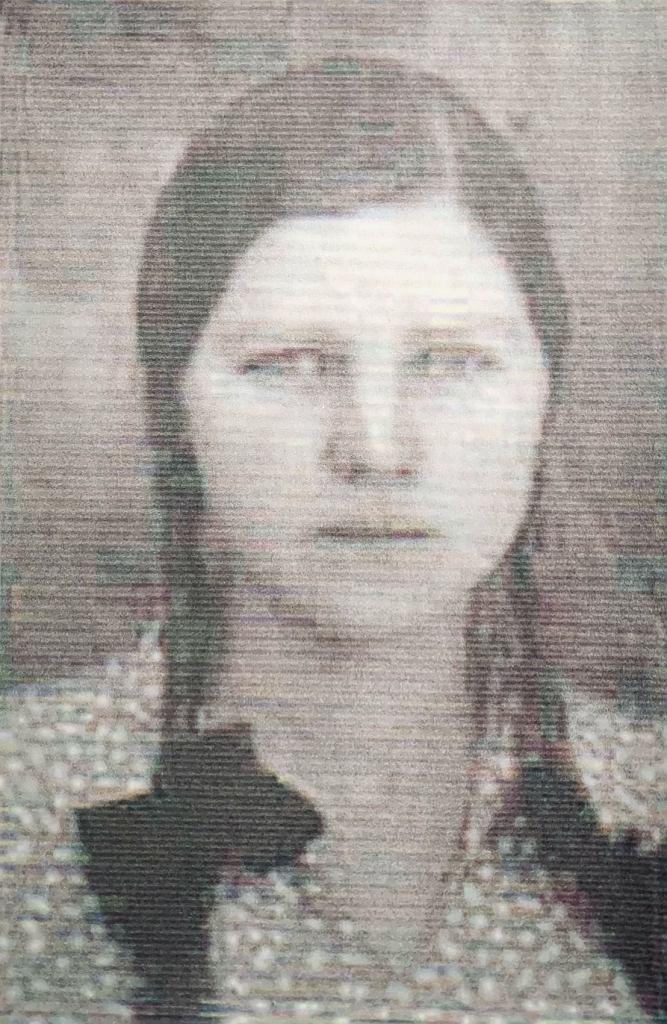Jedyne ocalałe zdjęcie: Wiera, z domu Trubacz, później Szperkowiczowa, lata 20. XX w.
