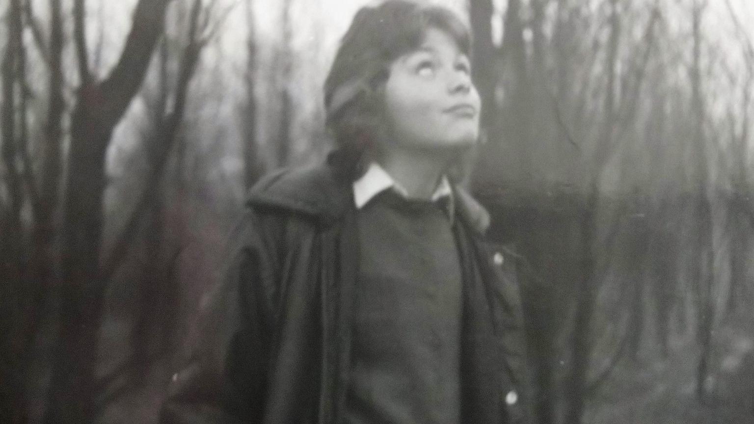 Michał Jędryka w dzieciństwie