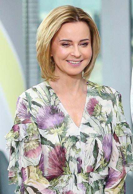 Jolanta Pieńkowska w 'Dzień Dobry TVN'
