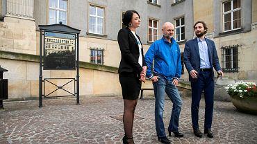 Na zaproszenie do udziału w happeningu odpowiedzieli tylko radni Aleksander Uszok i Marek Nowara ze Śląskiej Partii Regionalnej