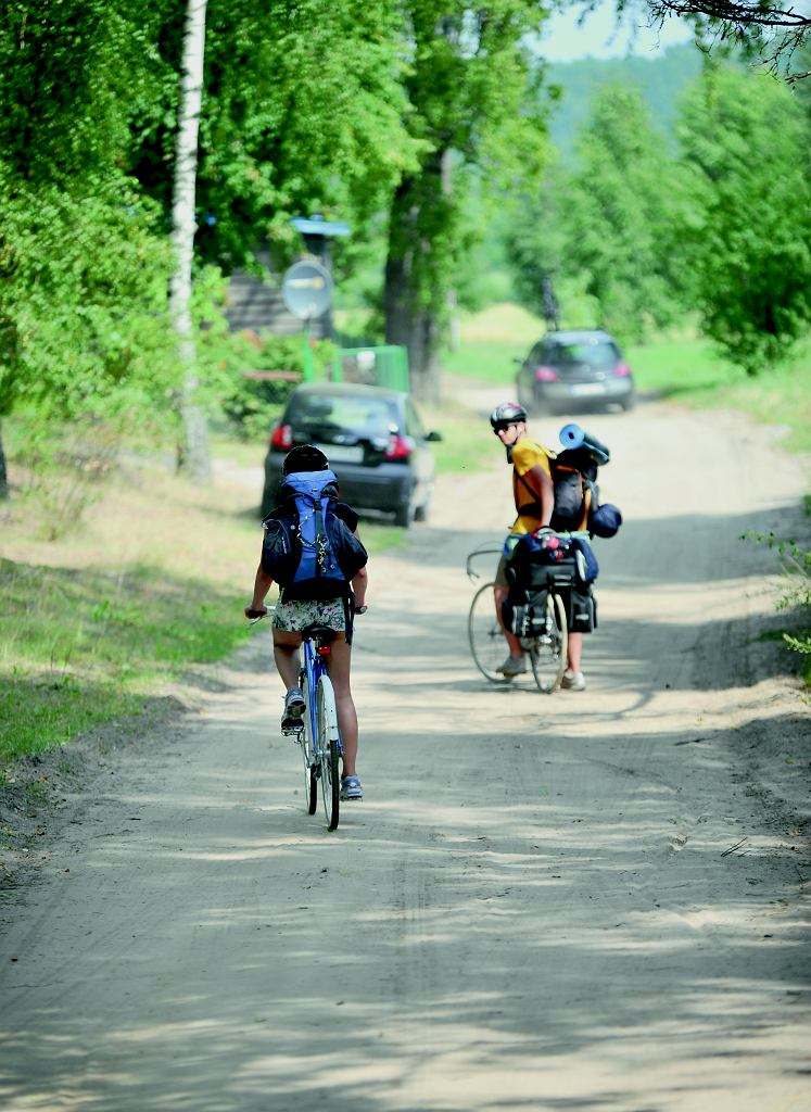 Trasa rowerowa w Borach Tucholskich