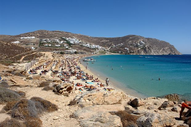 Mykonos - Elia Beach / Flickr.com / NervousEnergy