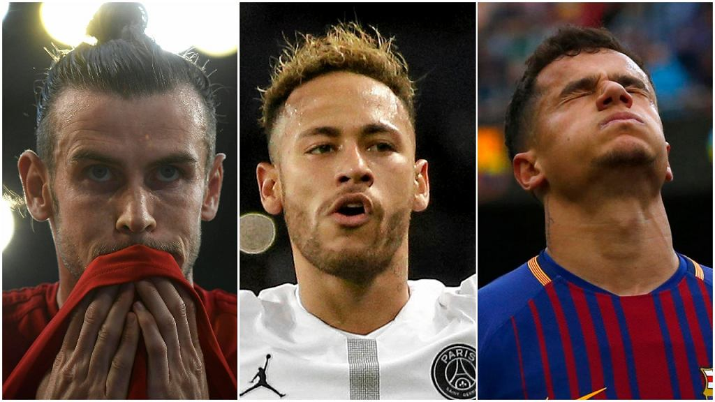 Gareth Bale, Neymar i Philippe Coutinho