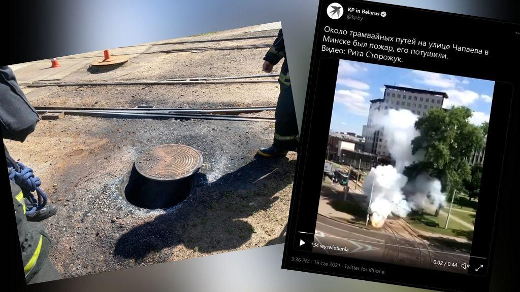 Białoruś. W pobliżu polskiej ambasady doszło do pożaru