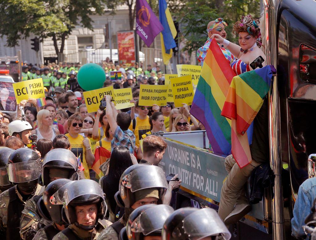 Marsz równości w Kijowie