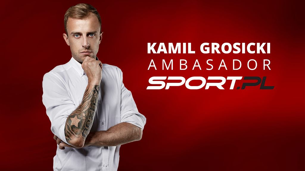 Kamil Grosicki ambasadorem Sport.pl