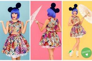 Zobacz jak Myszka Minnie zainspirowała Macademian Girl - wyjątkowy projekt London Fashion Week 2015