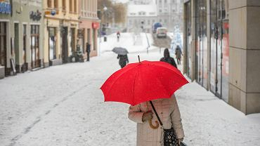 Pogoda. W Olsztynie i Suwałkach spadł pierwszy śnieg