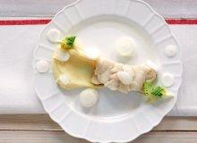 Dorsz na purée z sosem beurre blanc - ugotuj