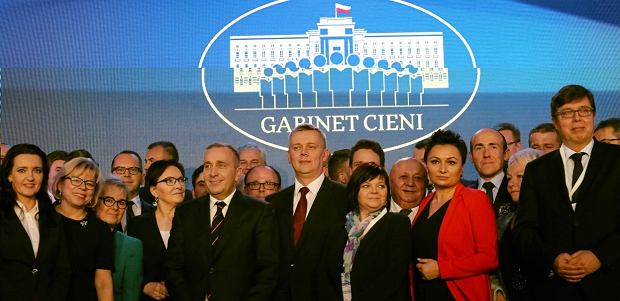 Gabinet cieni Platformy Obywatelskiej