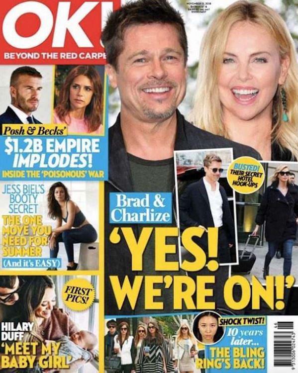 Brad Pitt i Charlize Theron mają romans?