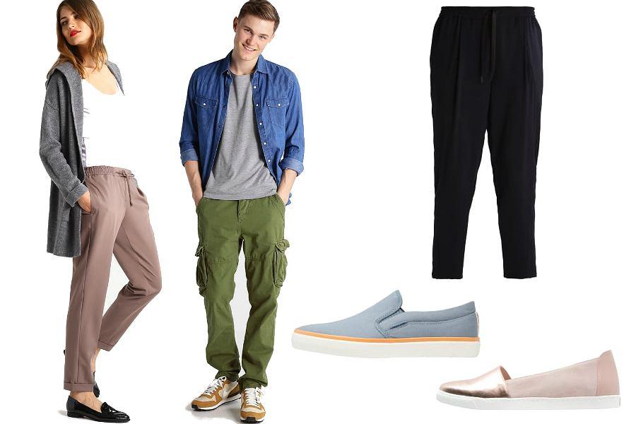 Co założyć na podróż samolotem - buty i spodnie / mat. partnera
