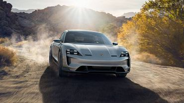 Porsche Mission E Cross