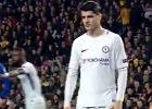 Liga Mistrzów. Obraźliwy gest Alvaro Moraty w kierunku kibiców Barcelony