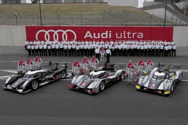 Zespół Audi Sport Team Joest w 2011 roku