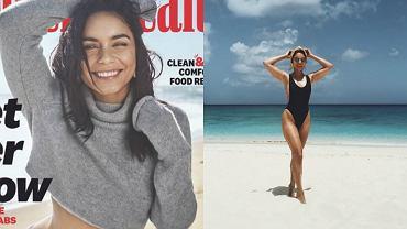 Vanessa Hudgens zachwyciła na okładce magazynu fitnessowego