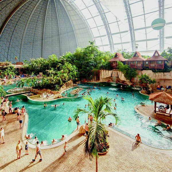 Tropical Island - słynny park wodny pod Berlinem