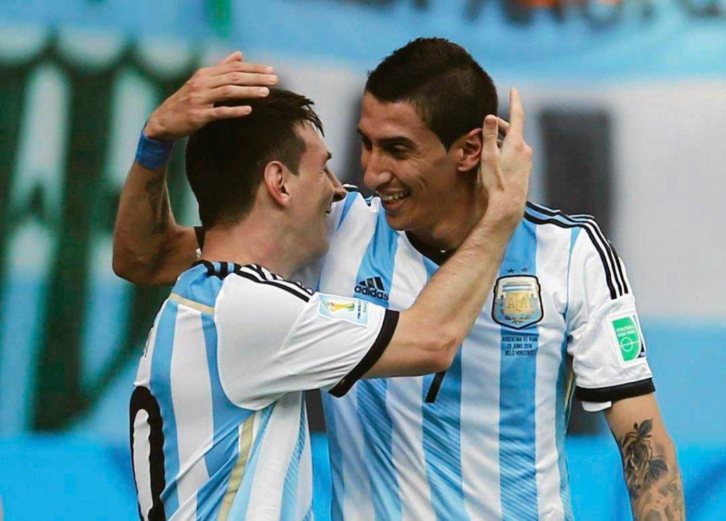 Angel Di Maria i Lionel Messi