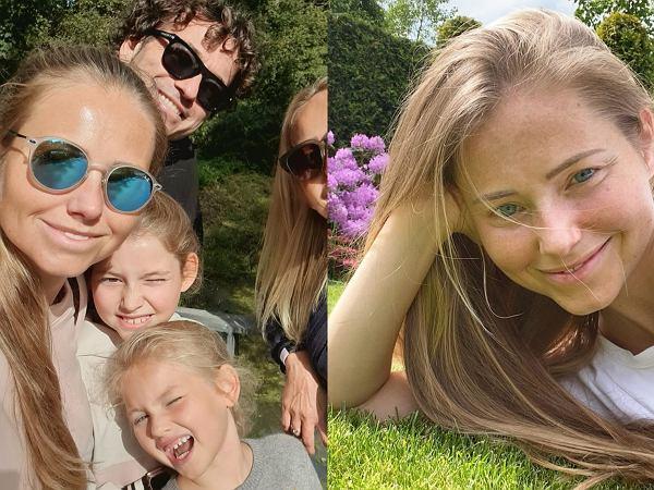 Agata Rubik zabrała na spacer Piotra, córki oraz mamę. Fani nie kryją zdziwienia: Myślałam, że to Twoja siostra!