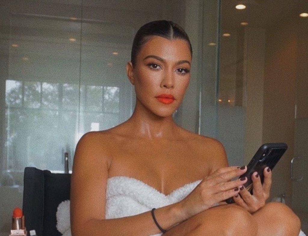 Kourtney Kardashian zaczyna tydzień od tych ćwiczeń