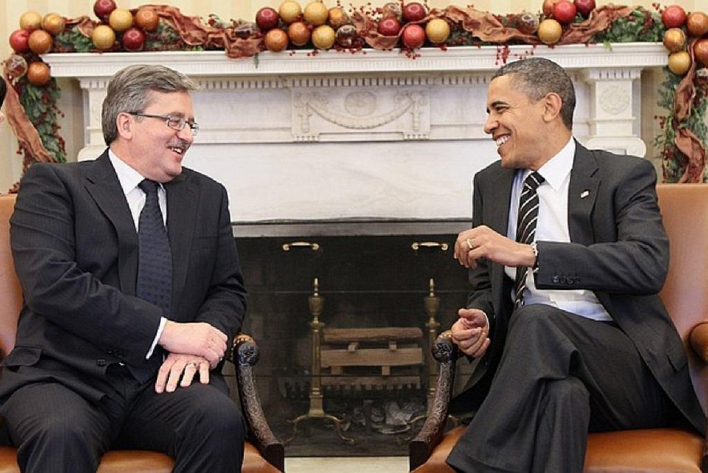 Bronisław Komorowski, Barack Obama, 2010 r.