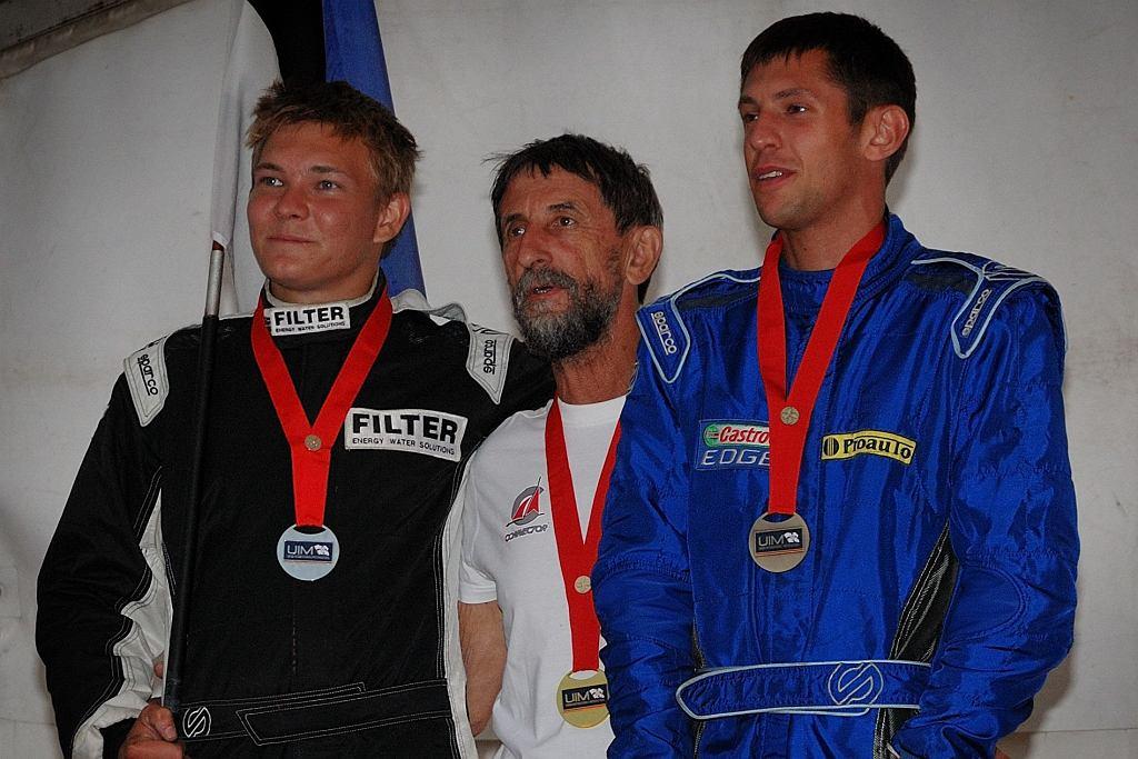 Adrian Zieliński (z prawej)