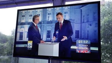 Debata prezydencka w TVN