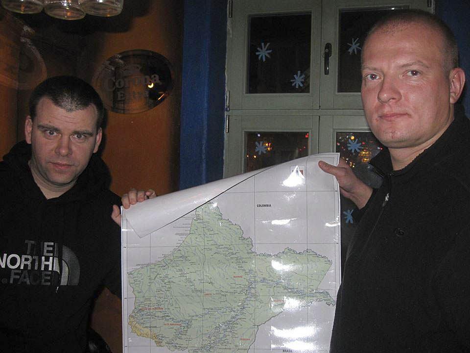 Marcin Gienieczko i Łukasz Czeszumski