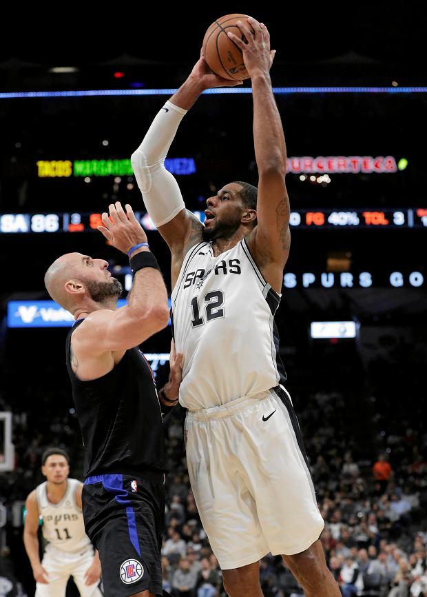 Zdjęcie numer 2 w galerii - Los Angeles Clippers znów przegrywają, Gortat zbiera i podaje